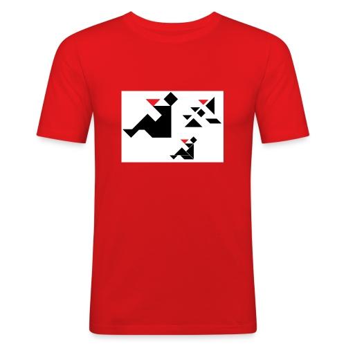 sreadshirt-catalogo-Uomo_con_coppa - T-shirt près du corps Homme