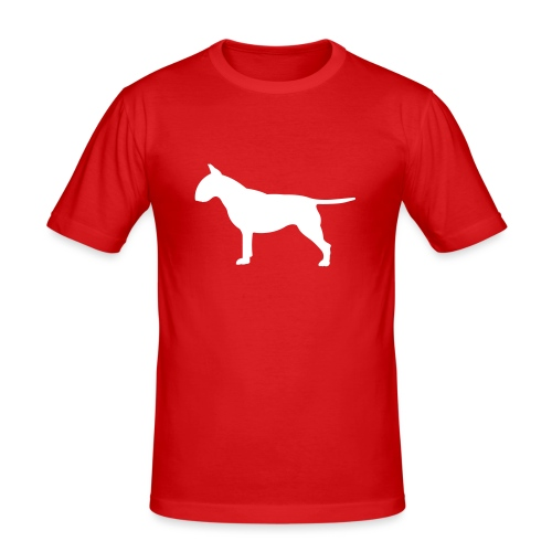 hunde_dogz_minibull_rumbs - Männer Slim Fit T-Shirt