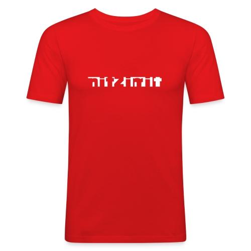 nitzimit - Männer Slim Fit T-Shirt