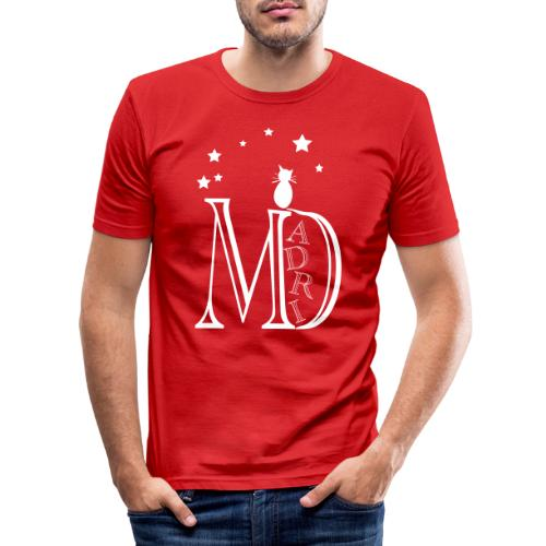 MadriG - Camiseta ajustada hombre