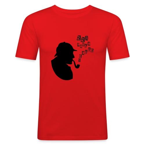 SHERLOCK BAKER STREET png - T-shirt près du corps Homme