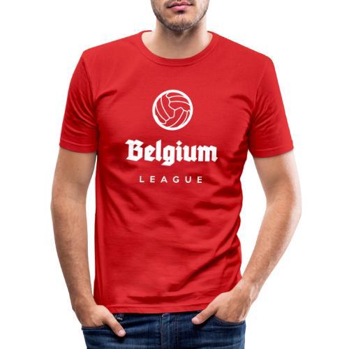 Belgium football league belgië - belgique - T-shirt près du corps Homme