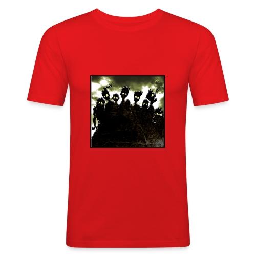 background 003 - T-shirt près du corps Homme