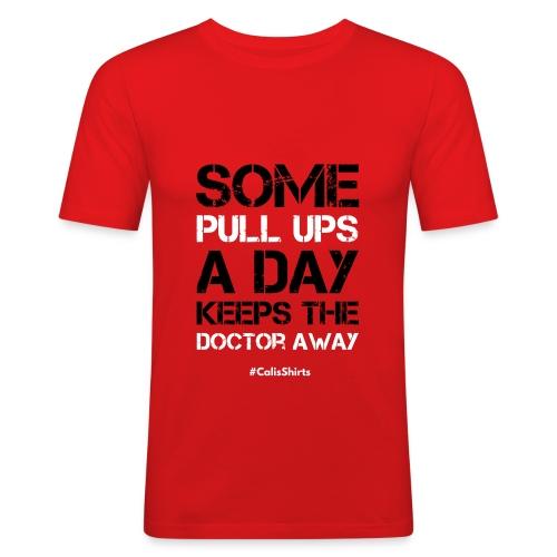 SomePullUps - Men's Slim Fit T-Shirt