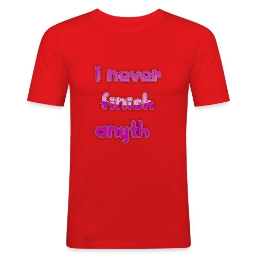finish - Men's Slim Fit T-Shirt