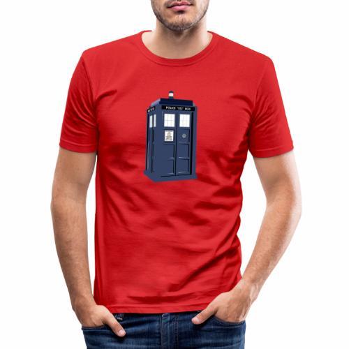 Tardis - Men's Slim Fit T-Shirt