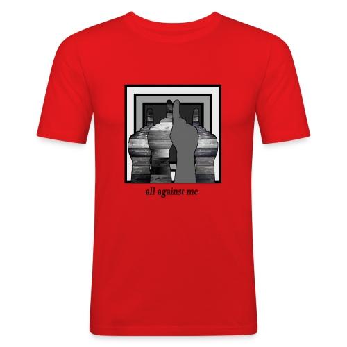 ALL AGAINST ME-2 - Camiseta ajustada hombre
