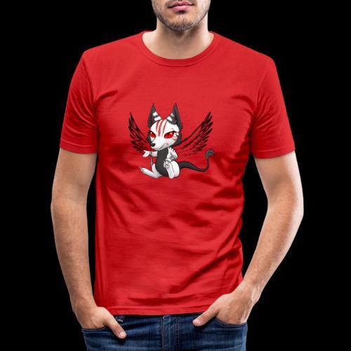 Démon Wolfire - T-shirt près du corps Homme