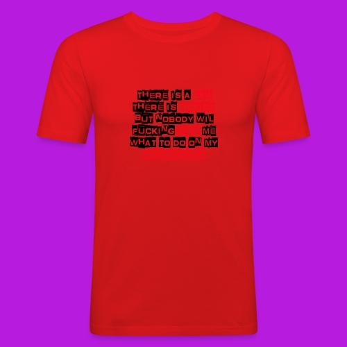Naamloos1 - Men's Slim Fit T-Shirt
