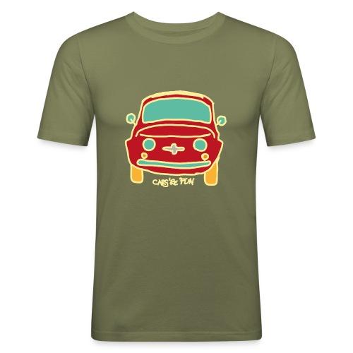 Voiture ancienne mythique - T-shirt près du corps Homme