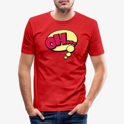 Serie Animados - Camiseta ajustada hombre