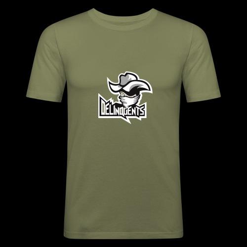 Delinquents TriColor - Herre Slim Fit T-Shirt