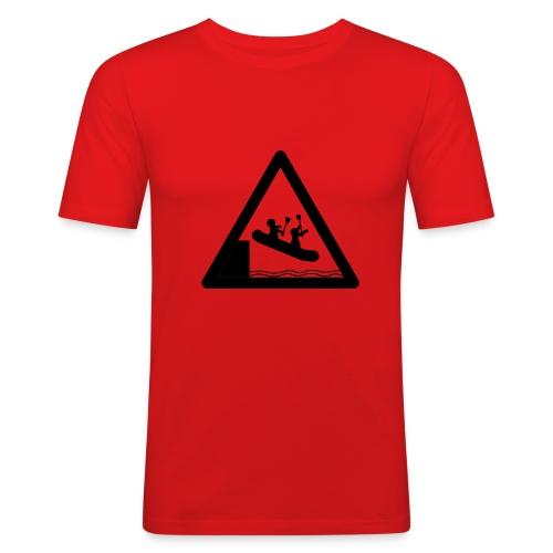 riot cc logo - Männer Slim Fit T-Shirt