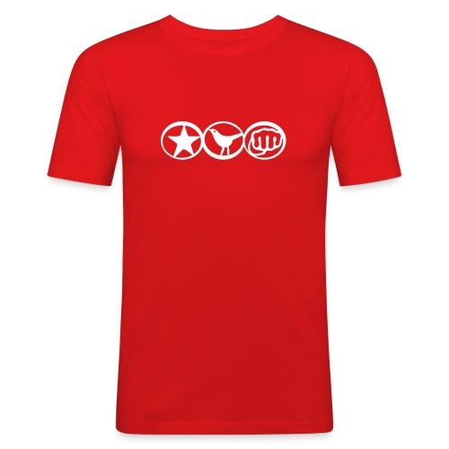 cp2 - Maglietta aderente da uomo