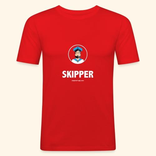 SeaProof Captain - Männer Slim Fit T-Shirt