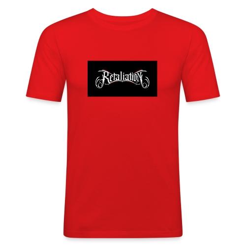 retaliation - Männer Slim Fit T-Shirt