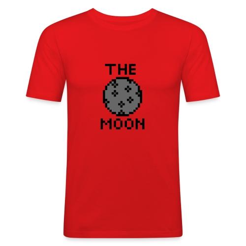 The Moon - Männer Slim Fit T-Shirt