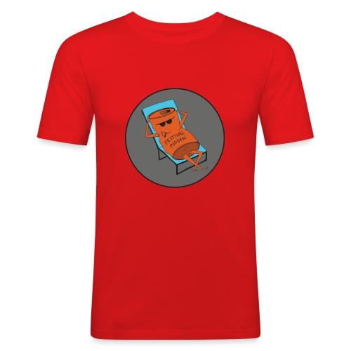 Festivalpodden - Loggan - Slim Fit T-shirt herr