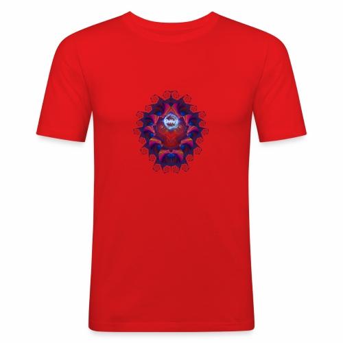 Alien Skull - whtwzrd - Miesten tyköistuva t-paita