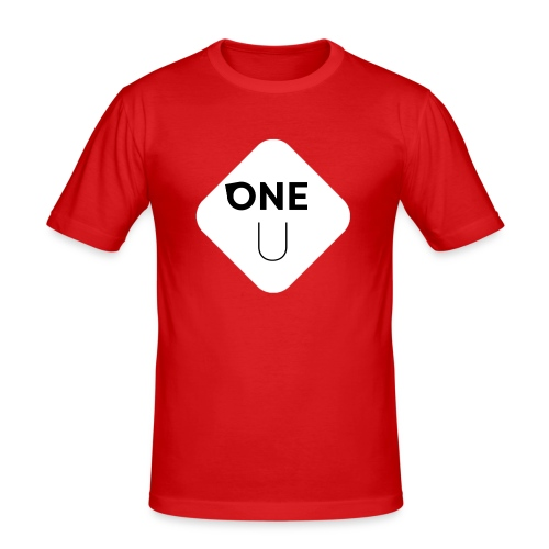 One U - Slim Fit T-shirt herr
