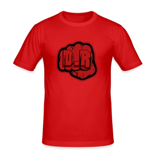 DigitalRelic Big Fist Logo - Slim Fit T-shirt herr