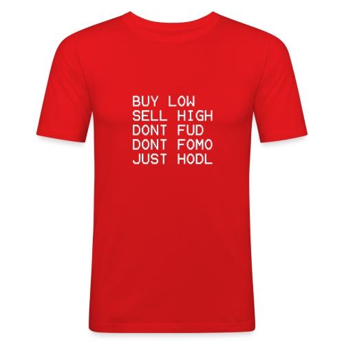 juste Hodl - T-shirt près du corps Homme
