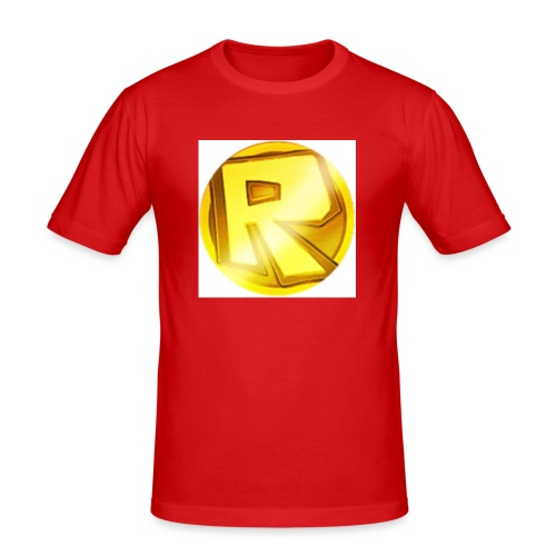 Razzerzlogoshirt - Men's Slim Fit T-Shirt
