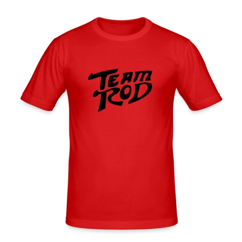 team rod - Männer Slim Fit T-Shirt
