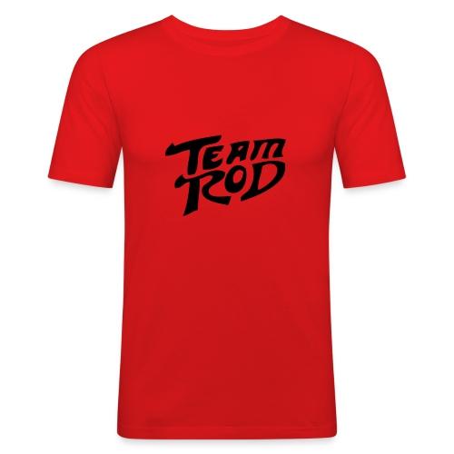team rod - Männer Slim Fit T-Shirt