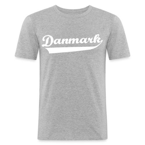 Danmark Swish - Herre Slim Fit T-Shirt