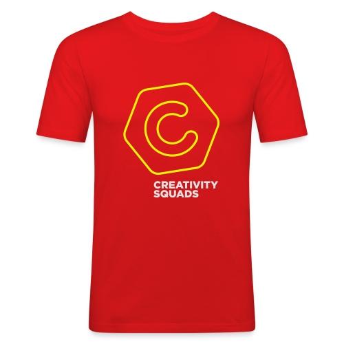 CS Hoodie Pink Unisex - Miesten tyköistuva t-paita