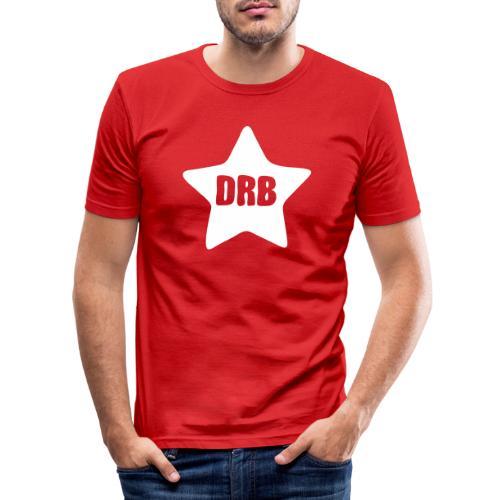 Dark Ride Star - Miesten tyköistuva t-paita