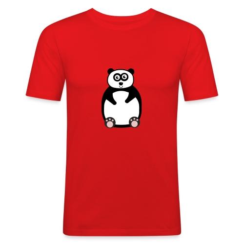 panda-png - Slim Fit T-shirt herr