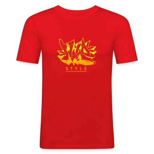 Wild Style Burner - Herre Slim Fit T-Shirt