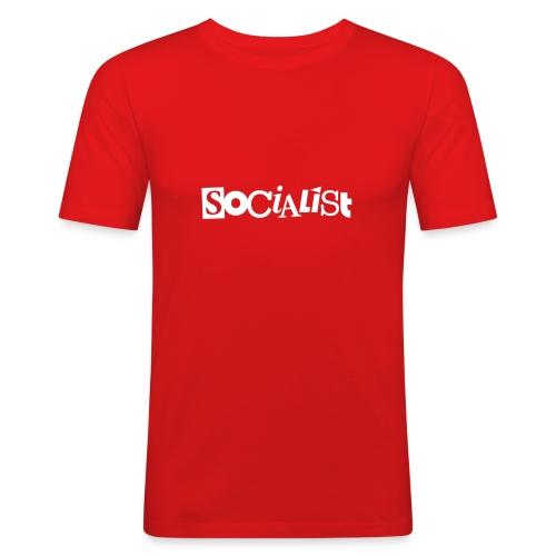 Socialist - Männer Slim Fit T-Shirt