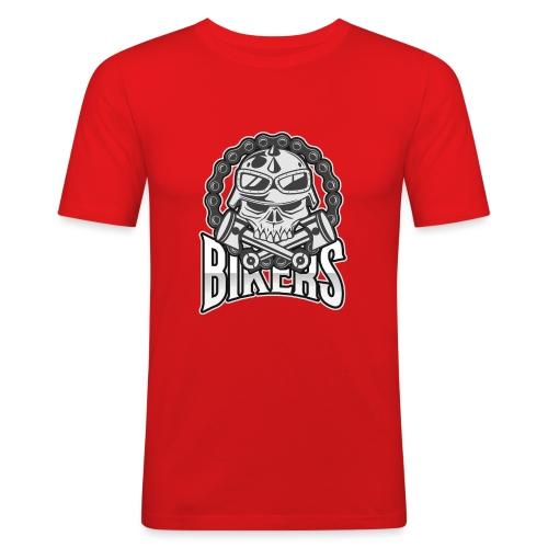 bikers new - T-shirt près du corps Homme