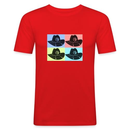 cuatro rick - Camiseta ajustada hombre