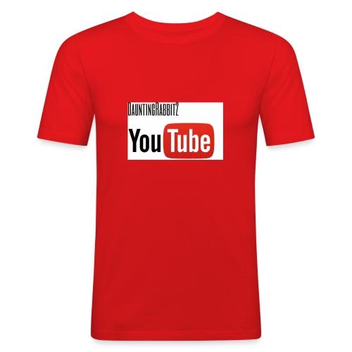 DauntingRabbit2 - Slim Fit T-shirt herr