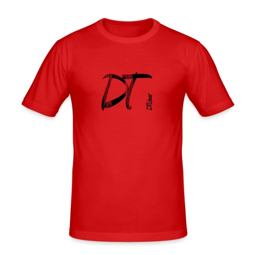 DTWear Limited Small Logo - Mannen slim fit T-shirt