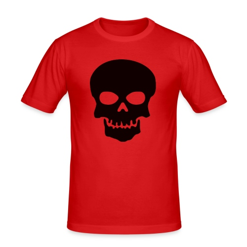 Skeleton-Style - Slim Fit T-skjorte for menn