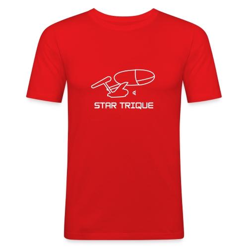 star trique - T-shirt près du corps Homme