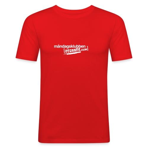 mk cff inv white - Slim Fit T-shirt herr