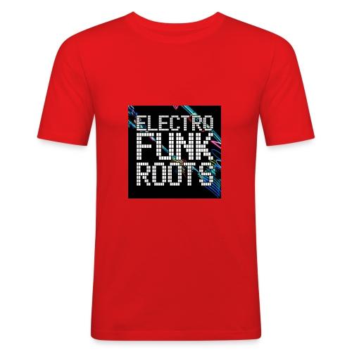 ElectroFunkRoots - Men's Slim Fit T-Shirt
