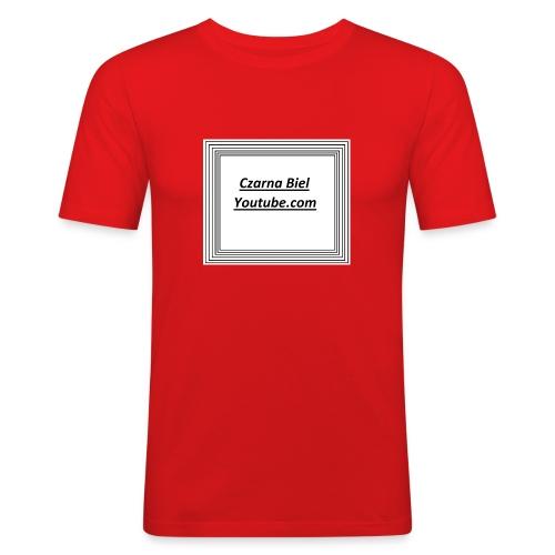 yt_cb - Obcisła koszulka męska