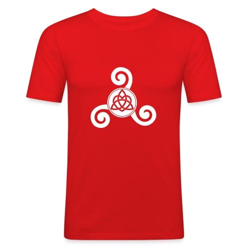 polytriskel 1b - T-shirt près du corps Homme