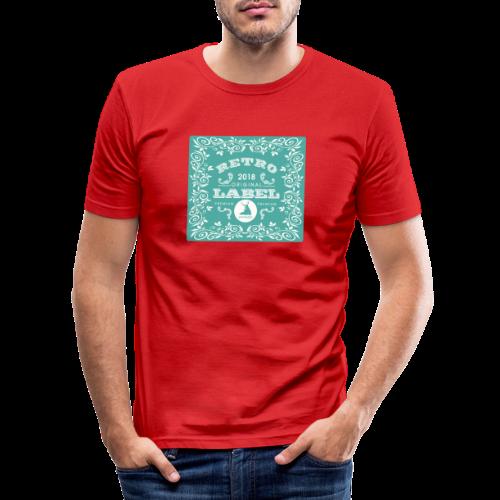 geweihbär RETRO 2018 - Männer Slim Fit T-Shirt