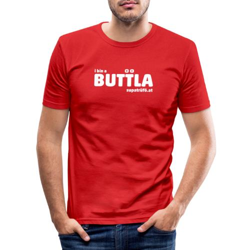 supatrüfö BUTTLER - Männer Slim Fit T-Shirt