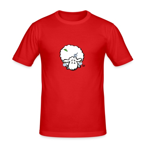 Mouton de Noël - T-shirt près du corps Homme