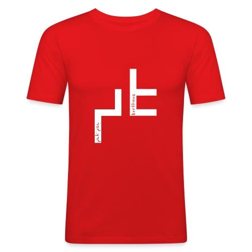 pukisybro03b - Männer Slim Fit T-Shirt