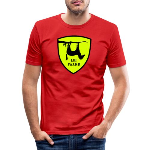 Lui paard 4 - Mannen slim fit T-shirt